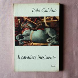 Il Cavaliere inesistente di Italo Calvino, prima edizione Einaudi