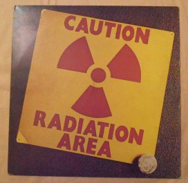 AREA : CAUTION RADIATION AREA – lp 1974 CRAMPS